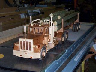Aaron Larson Log Truck 1